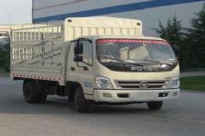 福田奥铃国四单桥仓栅式运输车95马力5吨以下(BJ5039CCY-BB)