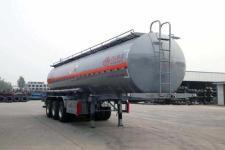 万事达牌SDW9402GFW型腐蚀性物品罐式运输半挂车