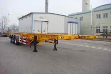黄海牌DD9404TJZG型集装箱运输半挂车图片