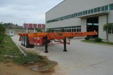 新华旭牌XHX9372TJZ型集装箱运输半挂车
