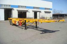 黄海牌DD9352TJZ型集装箱运输半挂车图片