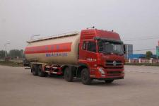 东风天龙前四后八散装水泥罐车粉粒物料运输车厂家