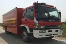 捷达消防牌SJD5141TXFGQ78/W型供气消防车图片