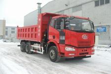 解放牌CA3250P63K1L1T1E4型平头柴油自卸汽车图片