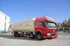 圆易牌JHL5317GFLN46ZZ型低密度粉粒物料运输车图片