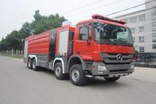 中卓时代牌ZXF5380GXFSG180型水罐消防车