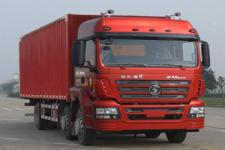 陕汽重卡国四前四后四厢式运输车211-299马力10-15吨(SX5256XXYGK549)