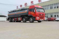 (20吨)解放J5前四后六氨水 液碱 醋酸运输车