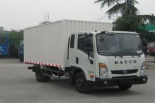 大运轻卡国四单桥厢式运输车109-116马力5吨以下(CGC5043XXYHGC33D)