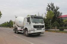 圆易牌JHL5257GJBN38ZZ型混凝土搅拌运输车图片