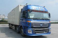 福田欧曼国四前四后四厢式运输车211-271马力10-15吨(BJ5253XXY-XB)