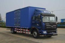 福田瑞沃国四单桥厢式运输车165-170马力5-10吨(BJ5165XXY-7)