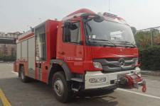 天河牌LLX5134TXFJY80/B型抢险救援消防车图片
