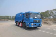 华林牌HLT5164ZYSD型压缩式垃圾车图片