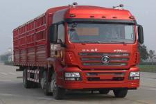 陕汽重卡国四前四后四仓栅式运输车211-245马力5-10吨(SX5206CCYGK549)