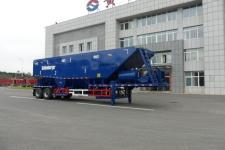 黄海牌DD9190TSH型油田砂浆混合传送半挂车图片