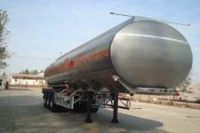 万事达牌SDW9405GYYA型铝合金运油半挂车