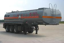 程力威牌CLW9403GFW型腐蚀性物品罐式运输半挂车