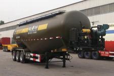 华宇达牌LHY9406GFLD型低密度粉粒物料运输半挂车图片