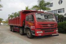 解放牌CA3310P1K15L3T4NE5A80型平头天然气自卸汽车图片
