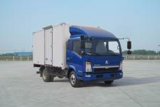 重汽HOWO轻卡国四单桥厢式运输车99-116马力5吨以下(ZZ5047XXYD3414D144)