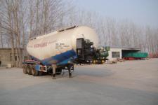 劲越10.4米30吨3轴低密度粉粒物料运输半挂车(LYD9403GFL)