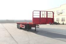 麟州牌YDZ9401TPB型平板运输半挂车图片