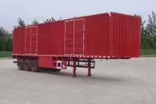 大运牌CGC9370XXY348型厢式运输半挂车图片