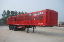 劲越12米34吨3轴仓栅式运输半挂车(LYD9403CCY)