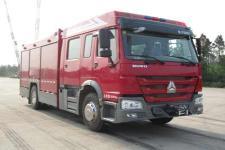 天河牌LLX5184GXFAP40/H型A类泡沫消防车图片