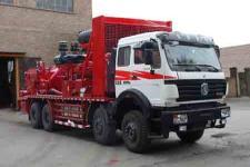 兰通牌LTJ5310TYL200型压裂车图片