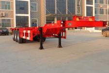 巨运12.5米35吨3轴集装箱运输半挂车(LYZ9401TJZ)