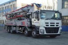 铁力士牌HDT5411THB-52/5型混凝土泵车