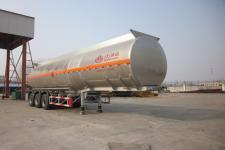 万事达牌SDW9406GRY型铝合金易燃液体罐式运输半挂车