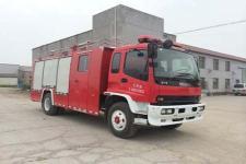 赛沃牌SHF5150GXFPM50型泡沫消防车