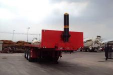 唐鸿重工9米32.5吨3轴平板自卸半挂车(XT9402ZZXP)