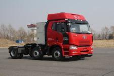 解放牌CA4250P66T3E24M5型平头天然气半挂牵引汽车图片