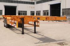 粱锋牌LYL9353TJZ型集装箱运输半挂车