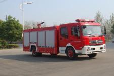 江特牌JDF5161GXFPM70B型泡沫消防车