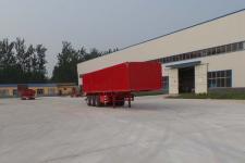 华鲁业兴10.5米32.9吨3轴厢式运输半挂车(HYX9401XXY)