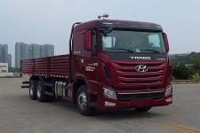 四川现代国四后双桥,后八轮货车340-411马力10-15吨(CHM1250KPQ61M)