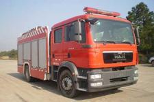 中联牌ZLJ5161GXFAP45型A类泡沫消防车图片