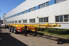 黄海牌DD9408TJZ型集装箱运输半挂车图片