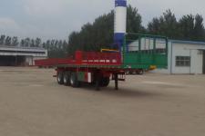华盛顺翔10.5米34.2吨3轴平板运输半挂车(LHS9400TPB)