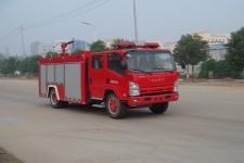 江特牌JDF5102GXFPM30型泡沫消防车