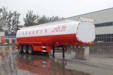 华鲁业兴11.2米30.8吨3轴液态食品运输半挂车(HYX9400GYS)