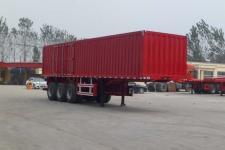 鲁郓万通牌YFW9402XXY型厢式运输半挂车图片