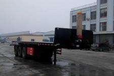 远东汽车9.4米32吨3轴平板自卸半挂车(YDA9402ZZXP)