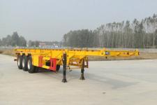华鲁业兴12.5米33.5吨3轴集装箱运输半挂车(HYX9403TJZ)