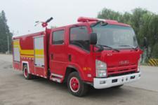 汉江牌HXF5101GXFPM30型泡沫消防车